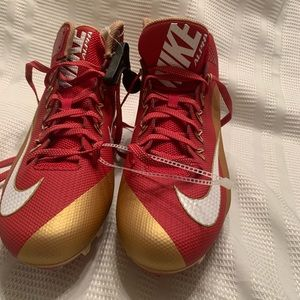 New Nike Vapor 2014 Red Gold Size 15 (742766-628)